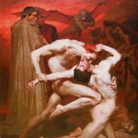 ウィリアム・アドルフ・ブグロー 『地獄のダンテとウェルギリウス』