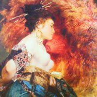ハンス・マカルト  『日本の女性』