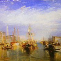 J・M・W・ターナー 『グランドキャナル大運河、ヴェネツィア』