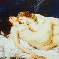 ギュスターヴ・クールベ 『眠り』