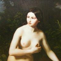 ルートヴィヒ・レフラー 『水浴する女』