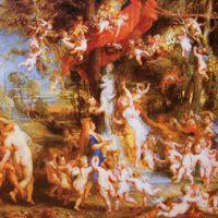 ルーベンス 『ヴィーナスの饗宴』