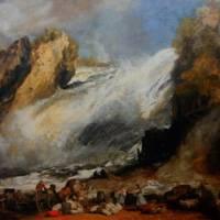 J・M・W・ターナー 『シャフハウゼン、ライン河の滝』