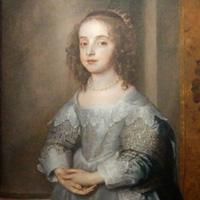 アンソニー・ヴァン・ダイク 『メアリー王女の肖像(チャールズ1世の娘)』