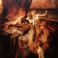 ハーバート・ドレイパー 『イカルスへの嘆き』