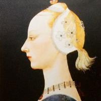 パオロ・ウッチェロ 『装飾的な若い女性』