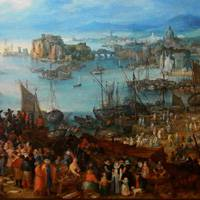ヤン・ブリューゲル 『魚市場』