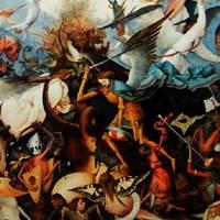ピーテル・ブリューゲル 『叛逆天使の墜落』