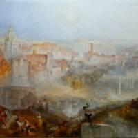 ウィリアム・ターナー『現代ローマ(カンポ・バクシノ)』