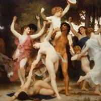 ウィリアム・アドルフ・ブグロー 『バッカスの青春』